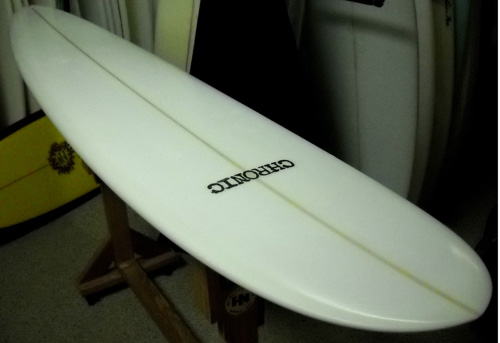 Clear Chronic Longboard