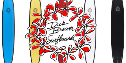 NEW Dick Brewer Epoxy Surfboards