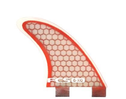 FCS G-XQ Rear (Red/Clear)